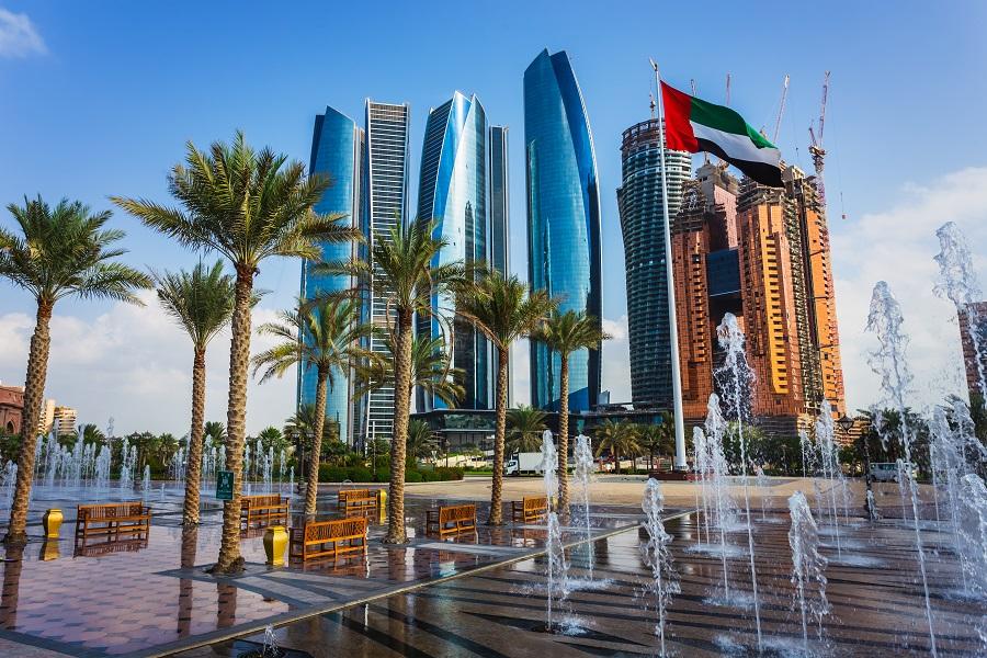 Башни Этихад, Абу-Даби, ОАЭ.