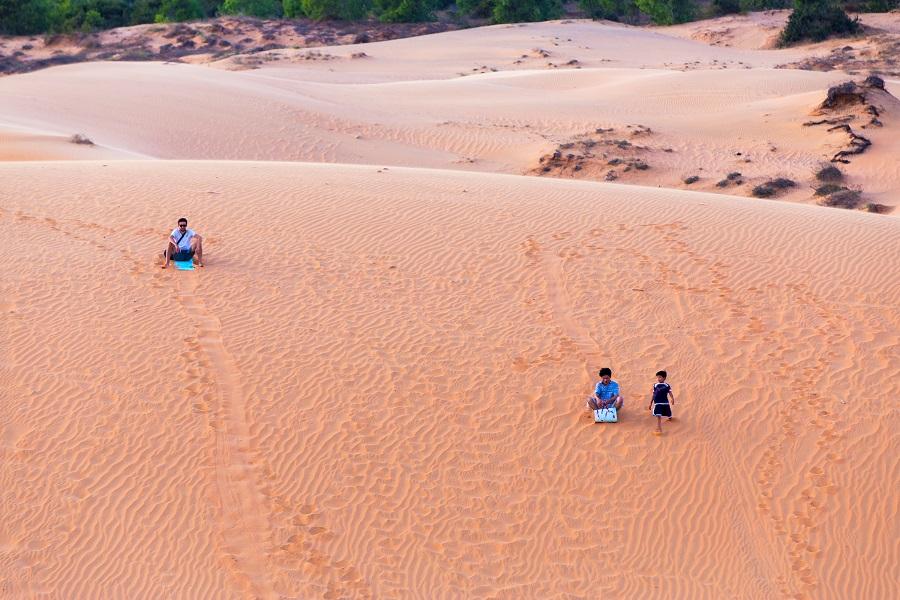 Красные дюны. Муйне, Вьетнам