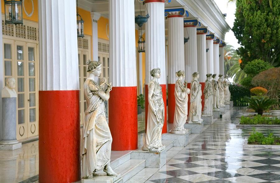 Площадь Спианада. Корфу, Греция.
