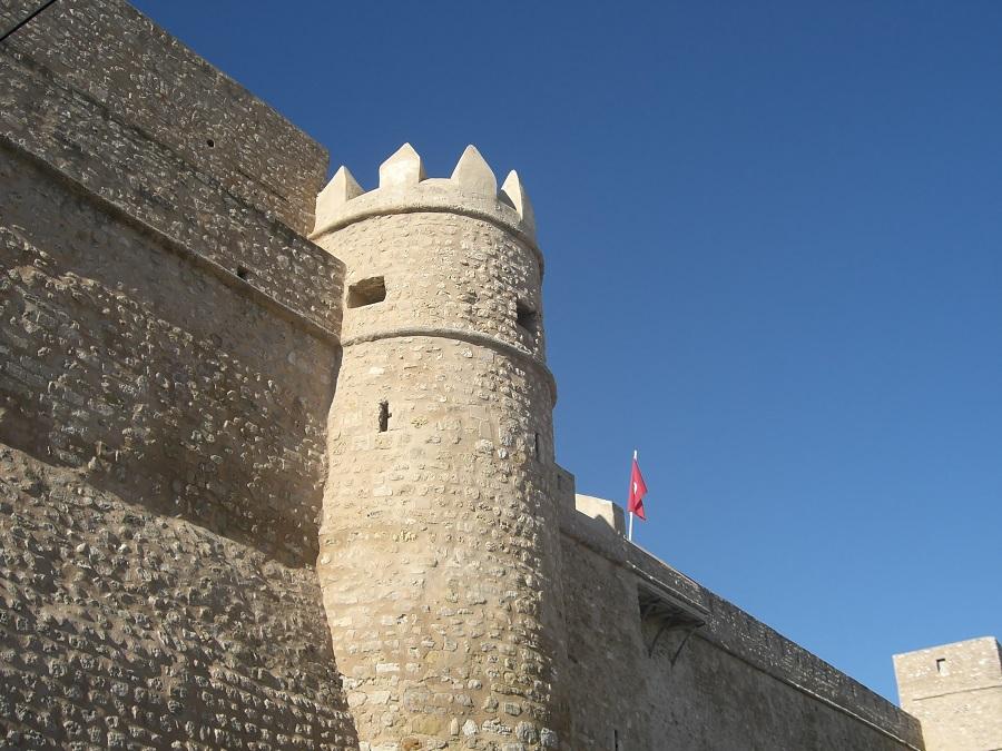 Крепость Касба. Хаммамет, Тунис.