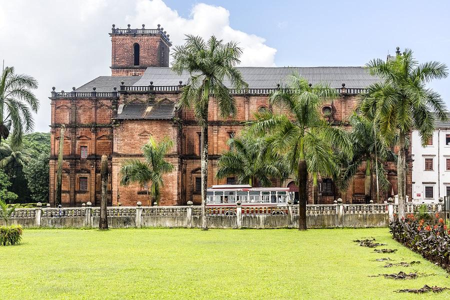 Церковь святого Франциска Ксавьера, Старый Гоа, Индия.