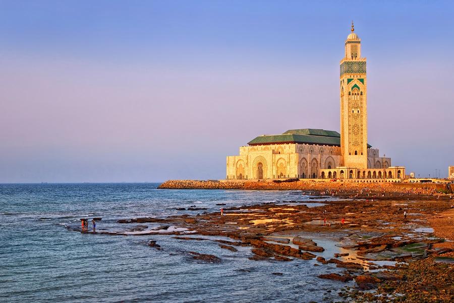 Мечеть Хасана II в Касабланке, Марокко.