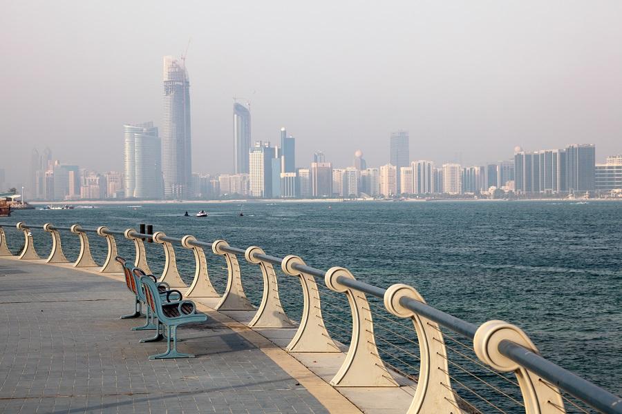 Набережная Корниш, Абу-Даби, ОАЭ.