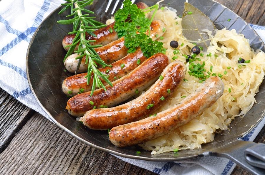 Вайсвурст— знаменитые мюнхенские колбаски