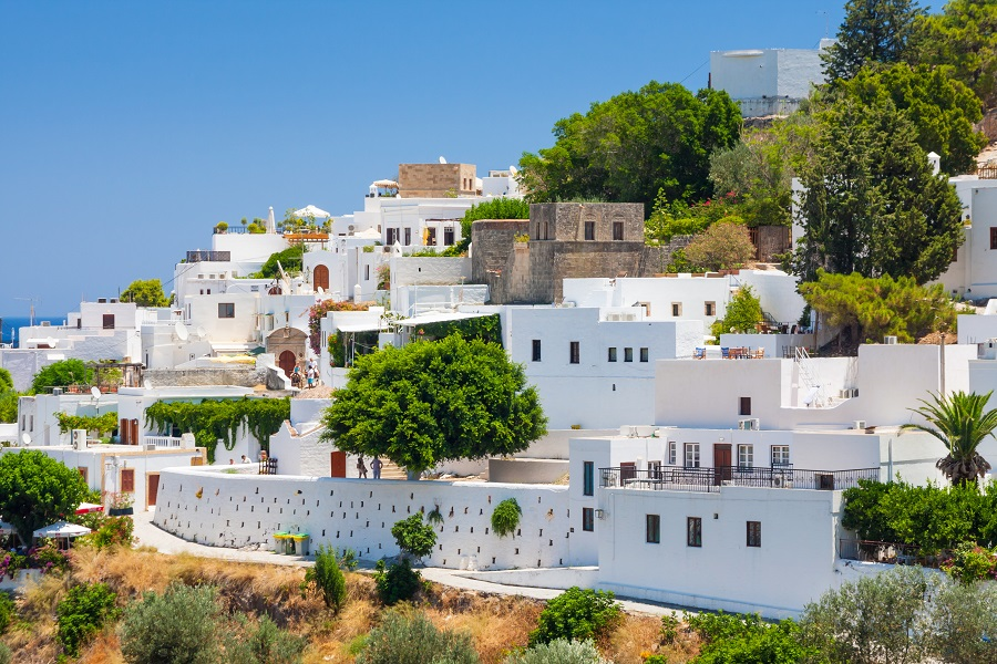Акрополь, Линдос. Греция.