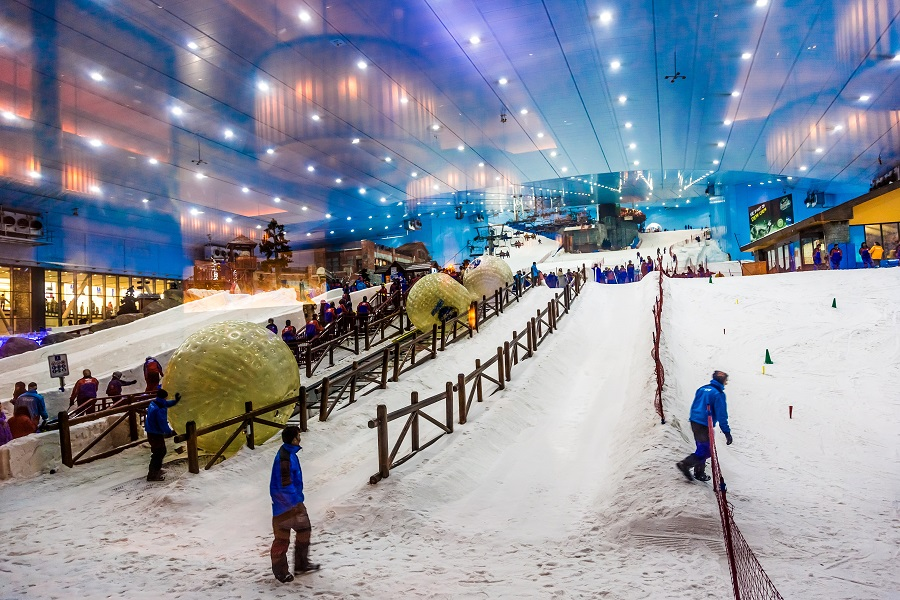 Ski Dubai, Дубай, ОАЭ.