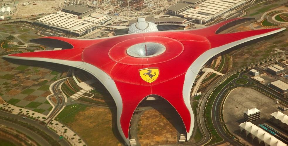 Парк «Феррари», Абу-Даби, ОАЭ.