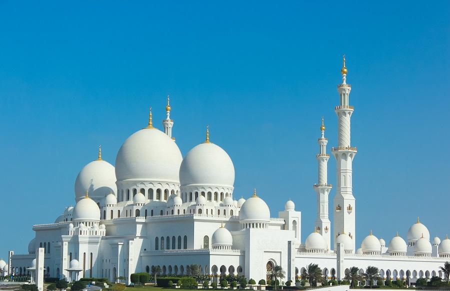 Мечеть шейха Зайда, Абу-Даби, ОАЭ.