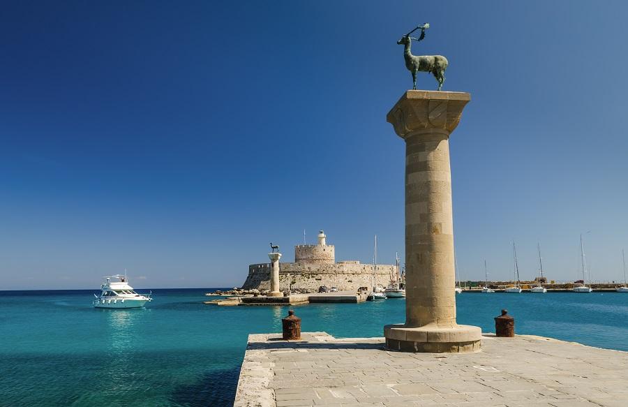 Порт Родос, Греция.