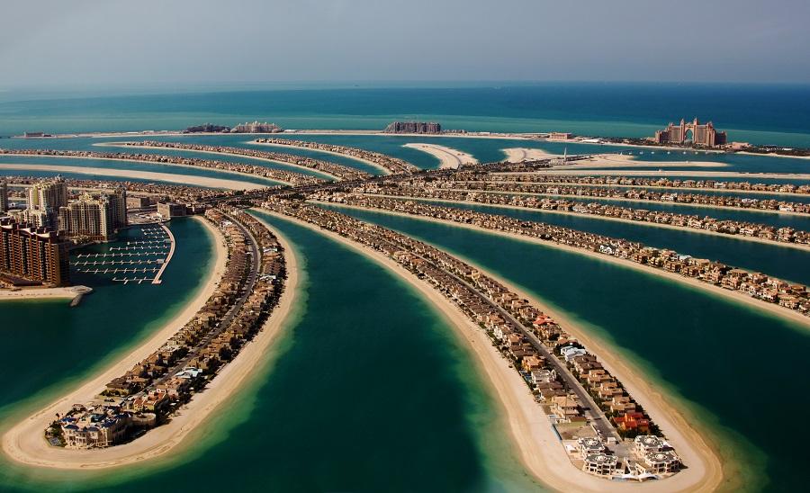 Пальма Джумейра, Дубай, ОАЭ.   Едем в Дубай Едем в Дубай